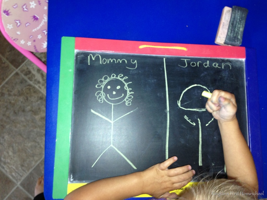 Preschool I draw u draw