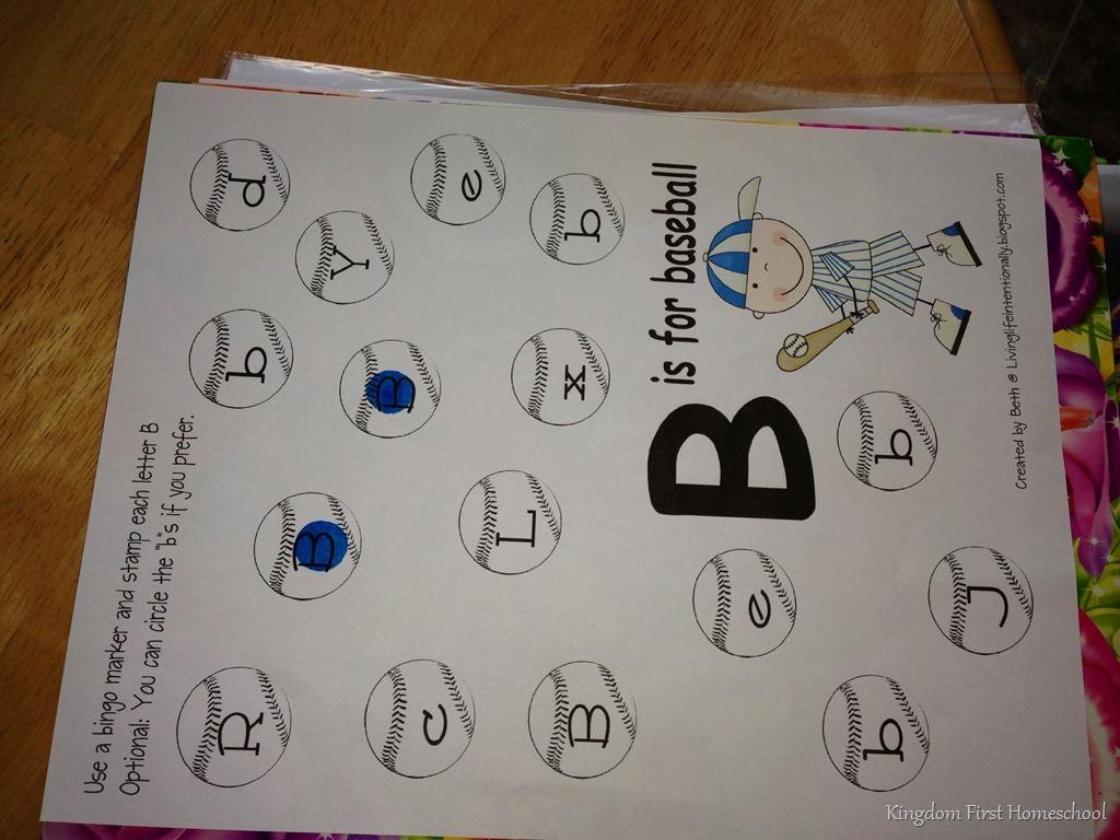 Preschool Letter Hunt