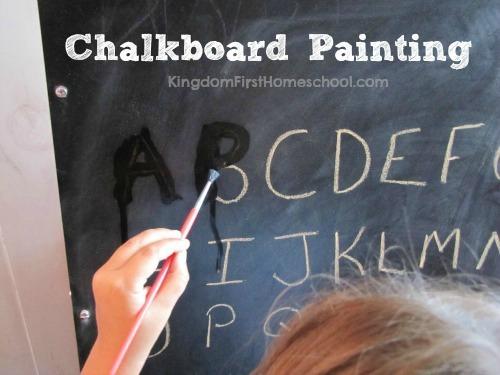 Chalkboard Painting