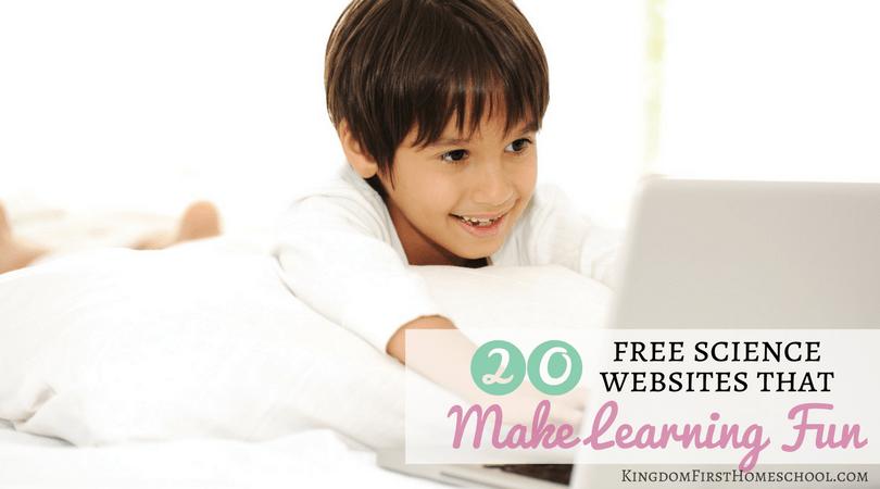 20 Free Science Websites that make Science Fun