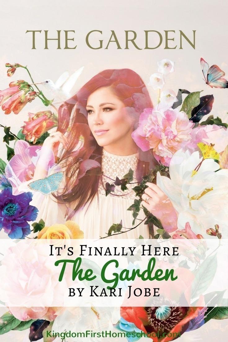 "Introducing the brand new album by Kari Jobe ""The Garden"""