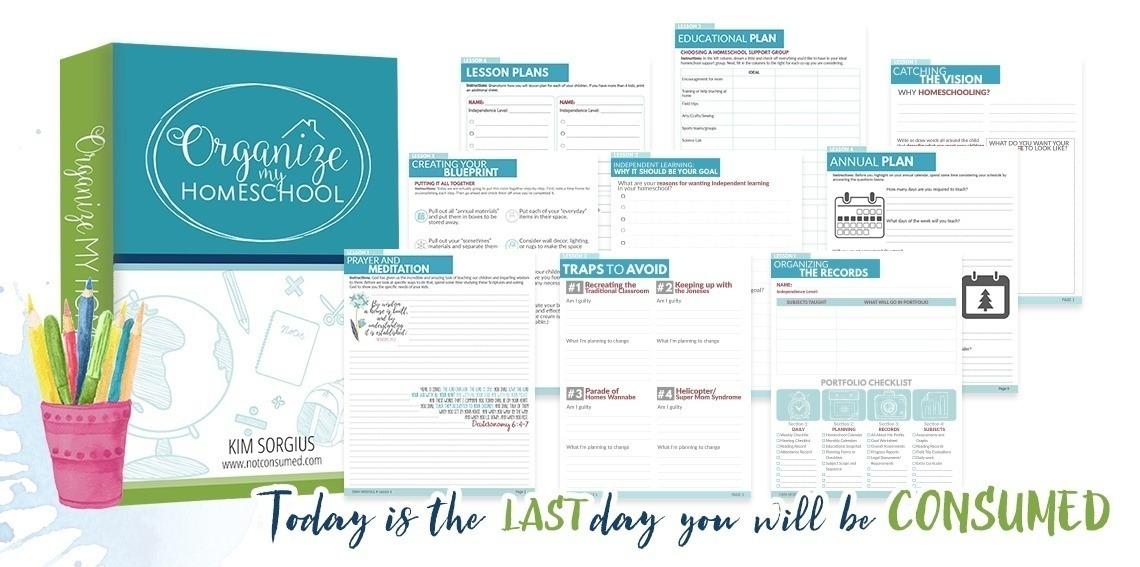 Homeschool Organization Solutions